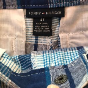 Tommy Hilfiger Bottoms - NWT 4T Tommy Hilfiger plaid shorts
